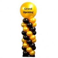 Set van 2 Ballon pilaren met topballon luxe