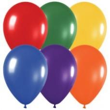 Ballon onbedrukt  30 cm ( heliumwaardig)