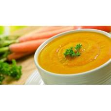 Paprika-wortel soep p.p