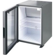 koelkast met glazen deur tafelmodel