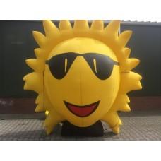 Opblaasbare Zon 2,5 meter