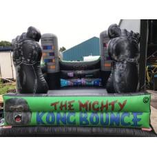 Springkussen  4x4 meter King Kong