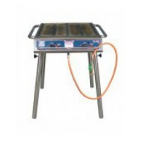Gas BBQ +- 40 persoons inclusief gas